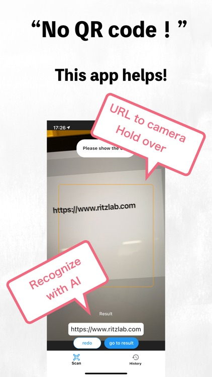 Easy QR and URL Scanner