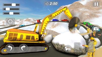 積雪クレーンを操作する紹介画像4