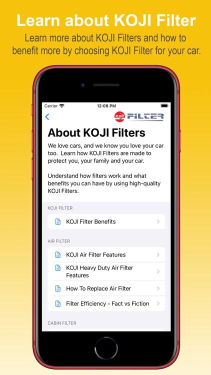 KOJI Filter App screenshot-3