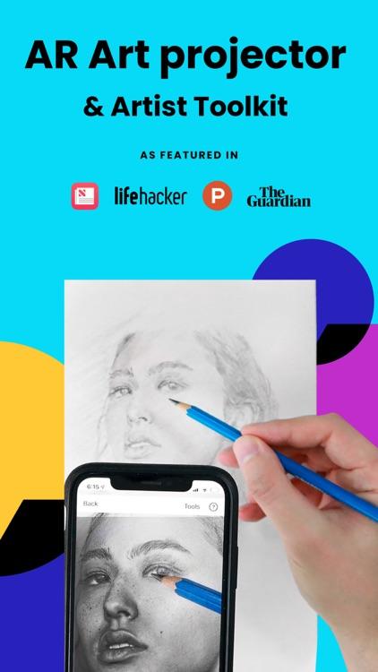 Da Vinci Eye: AR Art Projector screenshot-0