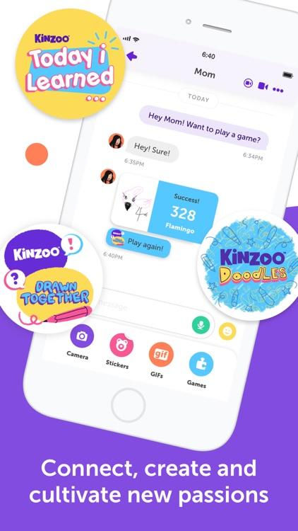 Kinzoo Messenger for Families screenshot-4