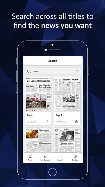 The Dallas Morning News ePaper screenshot-3