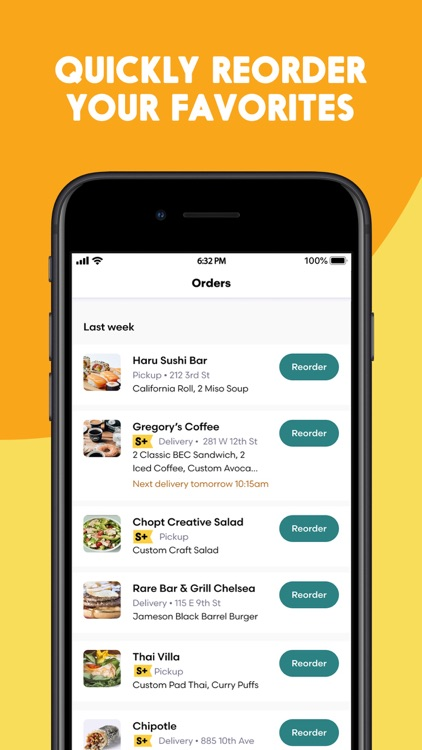 Seamless: Local Food Delivery screenshot-5