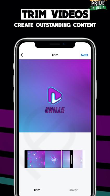 Chill5 - Short Video App screenshot-5