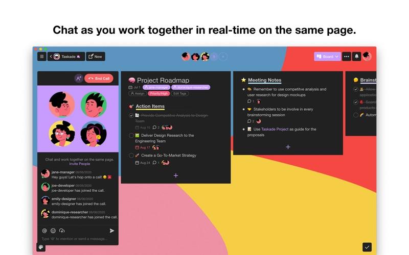 Taskade - Manage anything! скриншот программы 6