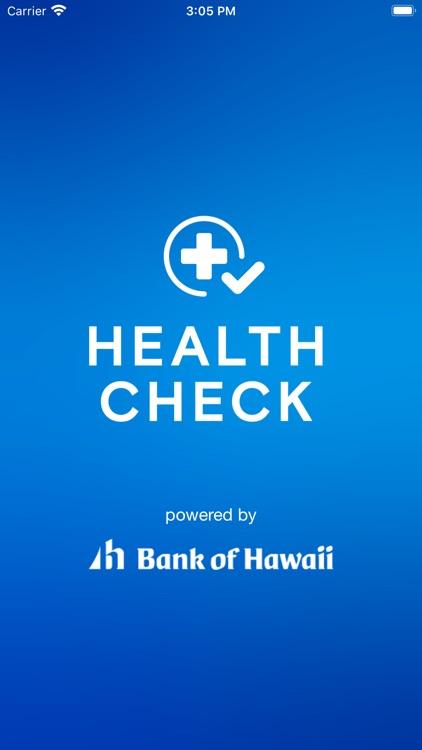 Health Check by Bank of Hawaii