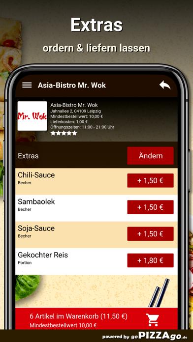 Asia-Bistro Mr. Wok Leipzig screenshot 6