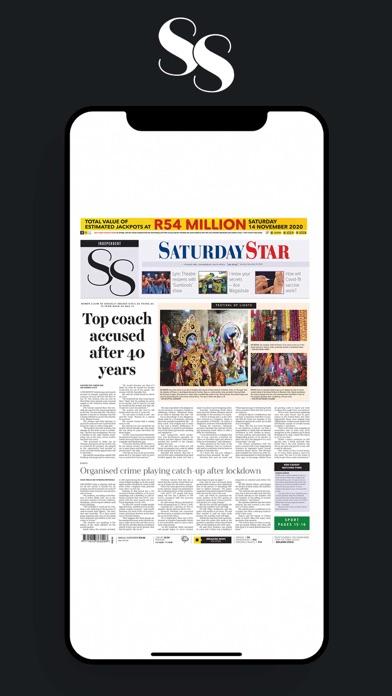 Saturday Star SAScreenshot of 1