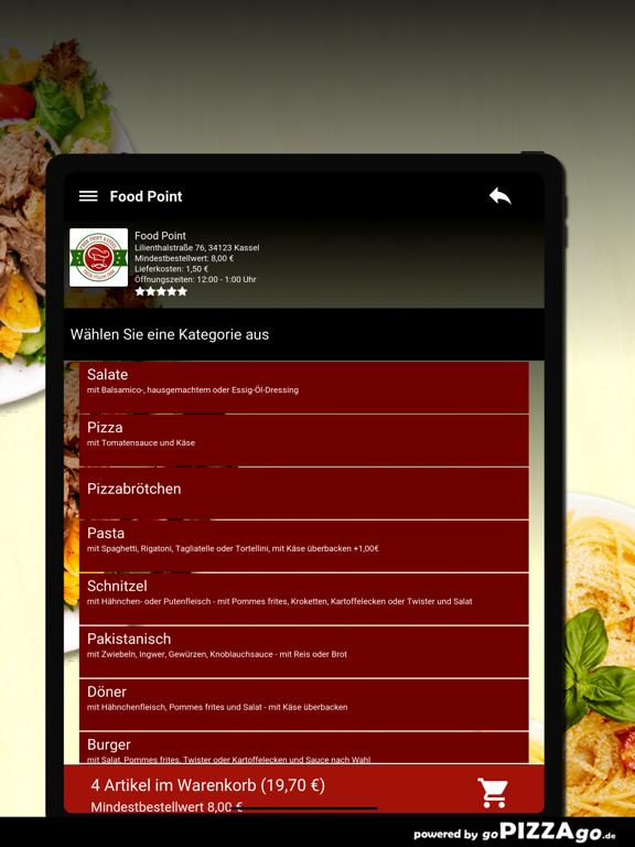 Food Point Kassel Pizza screenshot 8