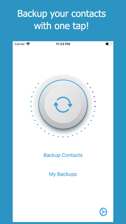Backup Contacts + Restore