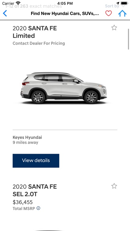 Hyundai Santa Fe screenshot-1