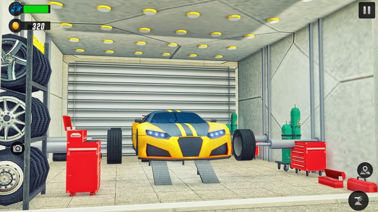 Automatic Car Service 3D