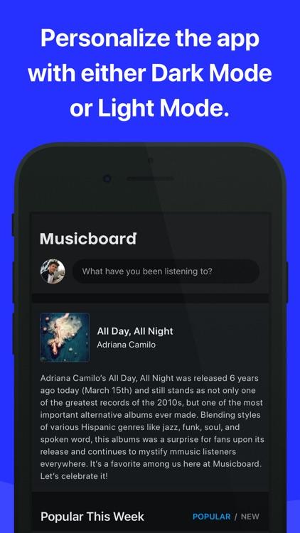Musicboard - Discuss Music screenshot-5