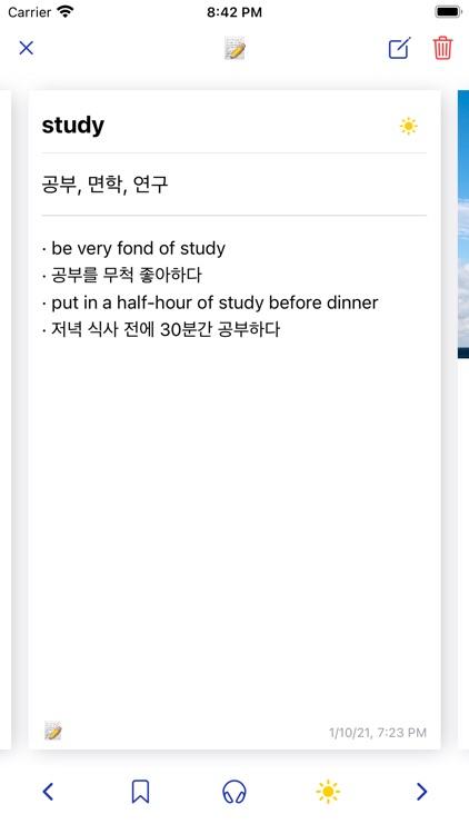 reno - anki study note screenshot-3