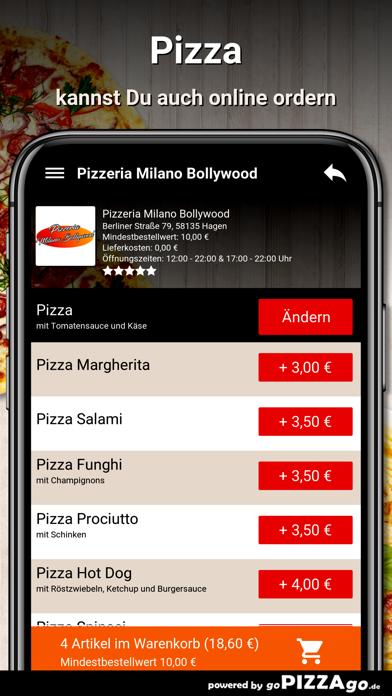 Milano Bollywood Hagen screenshot 5