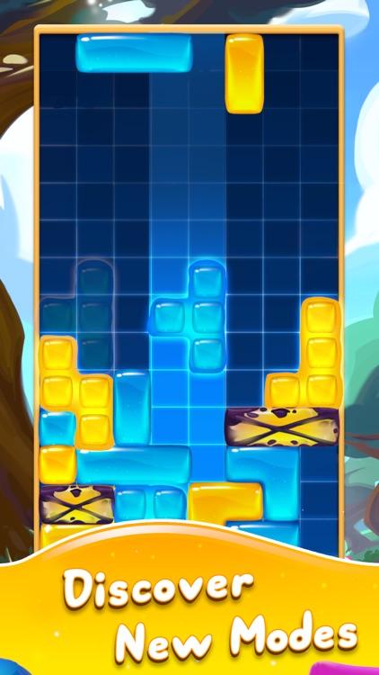 Jelly Slide Sweet Drop Puzzle screenshot-5