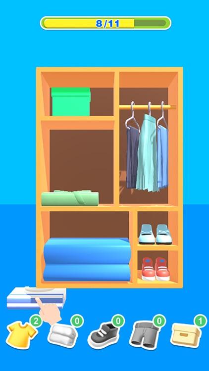 Tidy Clothes 3D screenshot-4