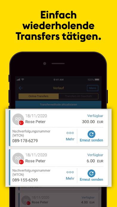 Western Union® GeldtransferScreenshot von 5