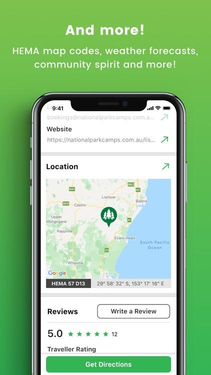 Camps Australia Wide GPS Guide screenshot-7