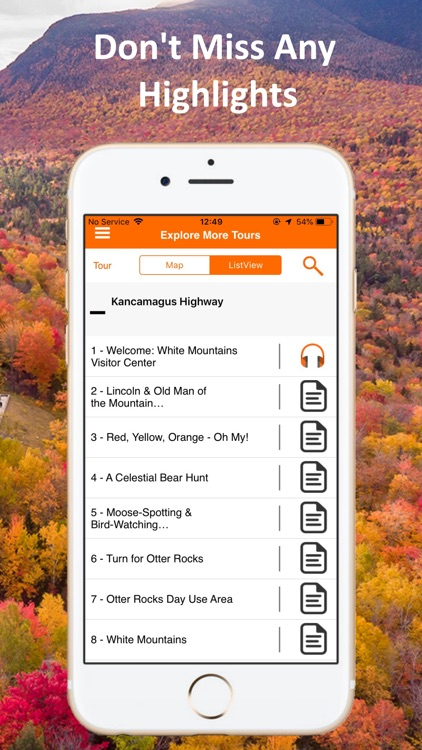 Kancamagus Highway Tour Guide screenshot-3
