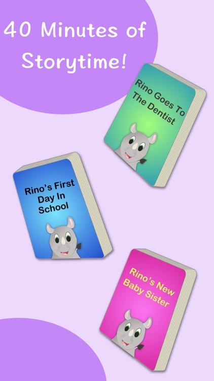 Rino: Story Books for Kids screenshot-3