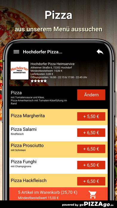 Hochdorfer Pizza Hochdorf screenshot 5