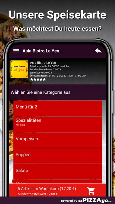 Asia Bistro Le Yen Iserlohn screenshot 4