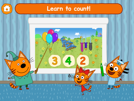 Ipad Screen Shot Kid-E-Cats: Little Kids Games! 3