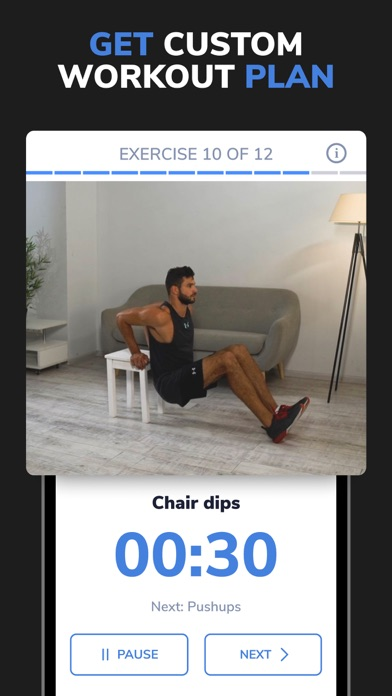 BetterMe: Workouts for Men Screenshot