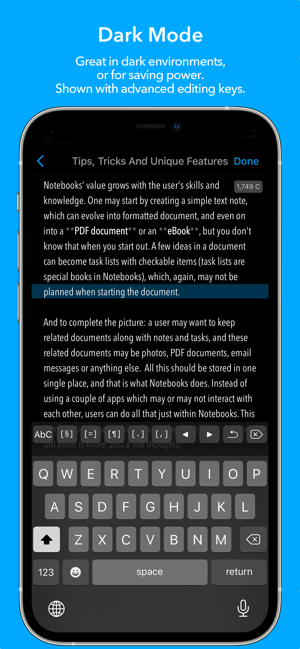 ‎Notebooks 10: Write & Organize Screenshot