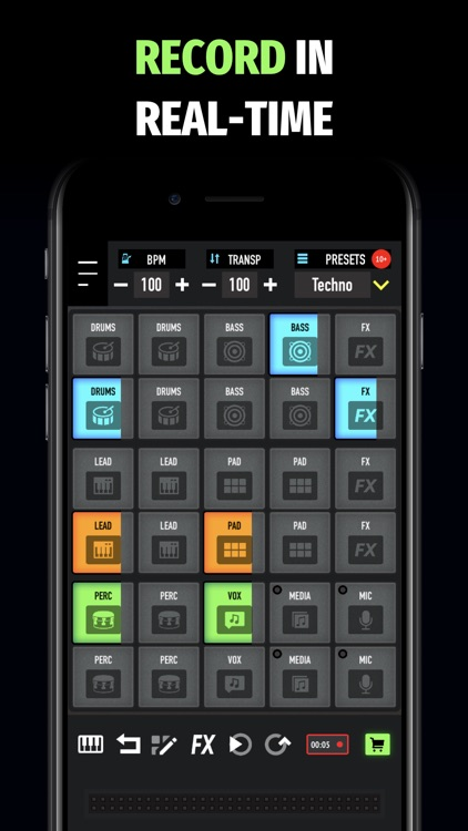 Mixpads-Drum Pads DJ Mixer PRO screenshot-6
