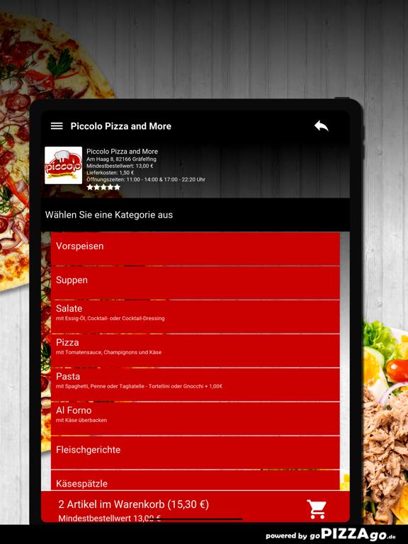 Piccolo Pizza Gräfelfing screenshot 8