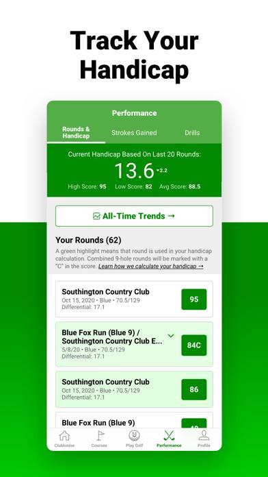 Golf GPS SwingU Screenshot