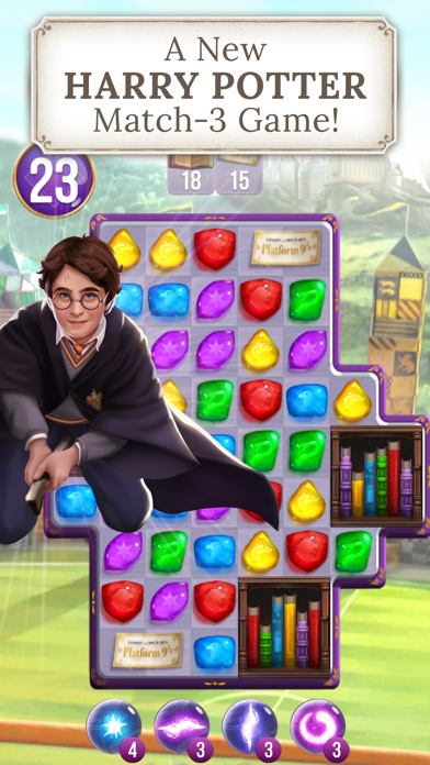 Harry Potter: Puzzles & Spells Screenshot