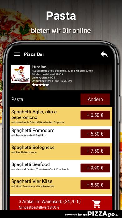 Pizza Bar Kaiserslautern screenshot 5