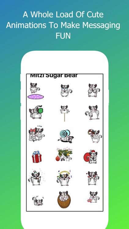 Mitzi Sugar Bear Emoji's screenshot-3