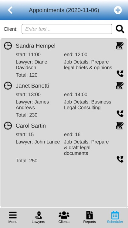 Lawyers Software screenshot-5