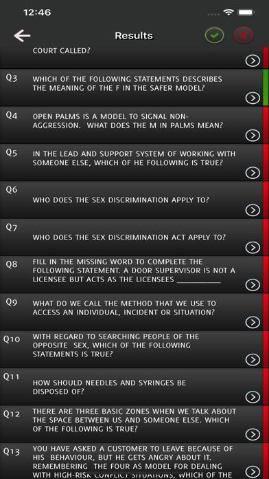SIA Door Supervisor Licence screenshot 4
