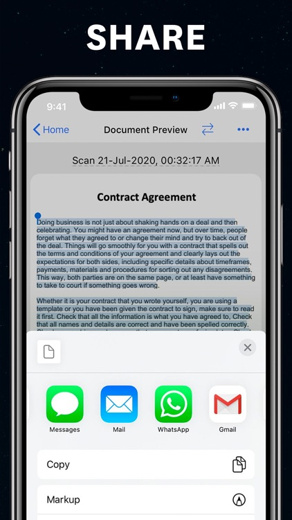 Scanner app Scan Documents PDF screenshot-4