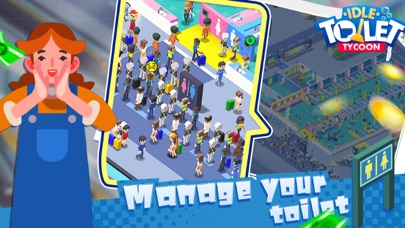 Toilet Empire TycoonCaptura de pantalla de1