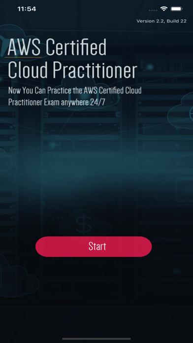 AWS Cloud Practitioner Exam screenshot 1
