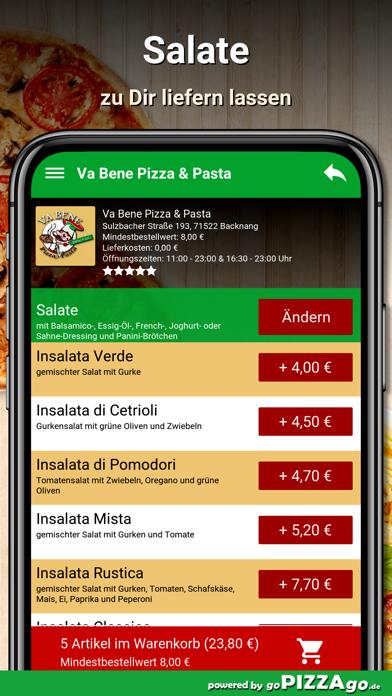 Va Bene Pizza - Pasta Backnang screenshot 5