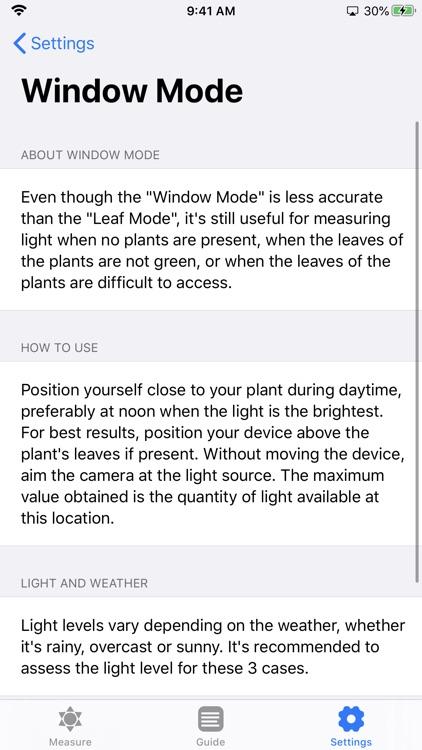 Plant Light Meter screenshot-9