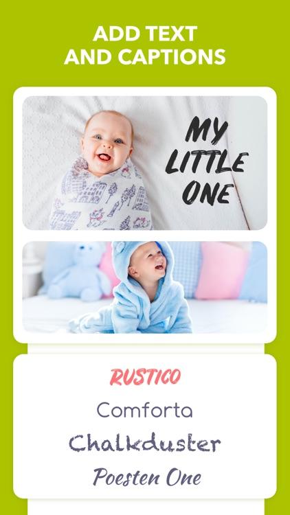 Baby Photo Editor & Journal screenshot-6