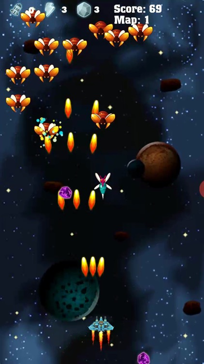 Space Attack- Galaxy Shooter! screenshot-4