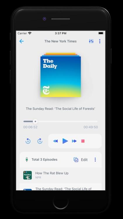 Moon FM - The Podcasts App screenshot-2