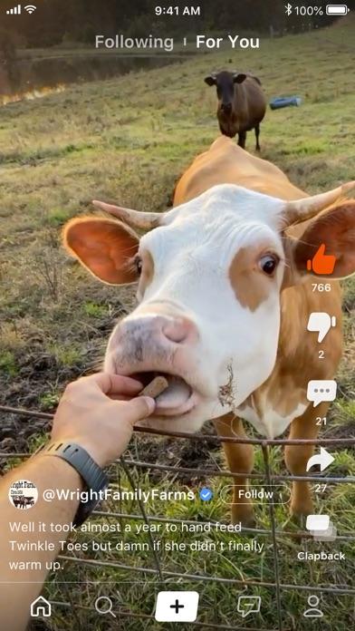 Clapper: Video Community Screenshot