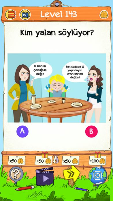 Braindom 2: Kim Kimdir Bulmaca iphone ekran görüntüleri