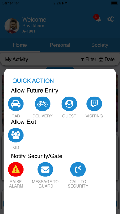 Signature Global Apartment App Screenshot