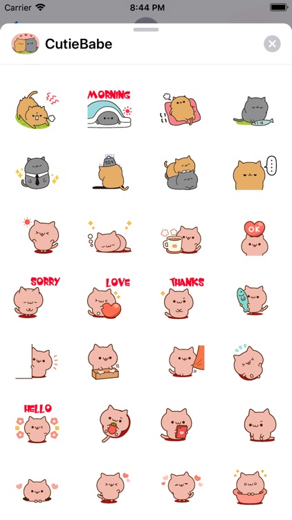 Cutie Babe Stickers pack